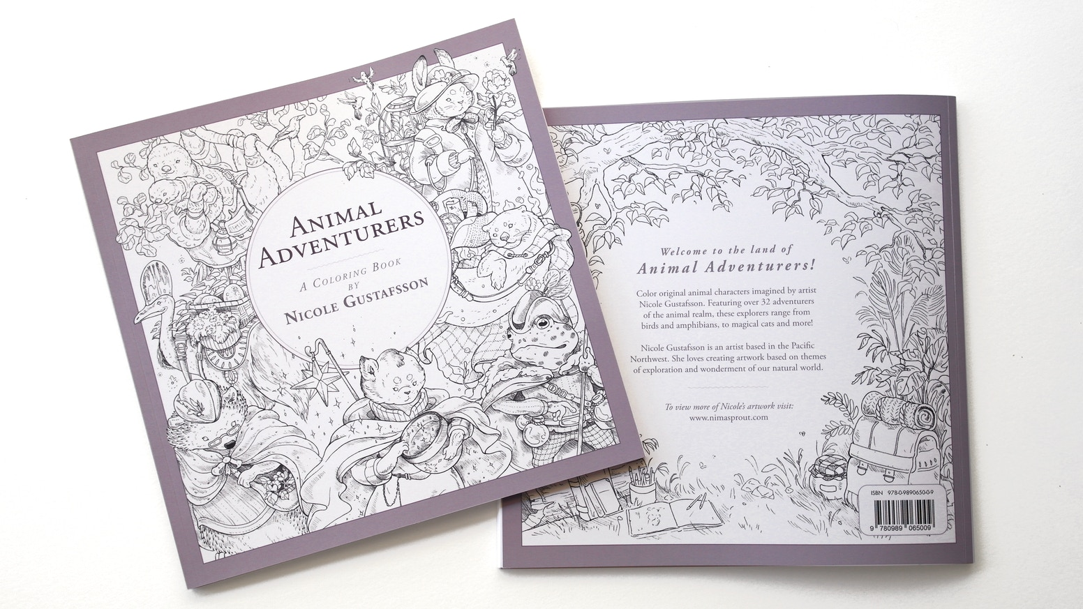 Animal Adventurers: Coloring Book by Nicole Gustafsson ...
