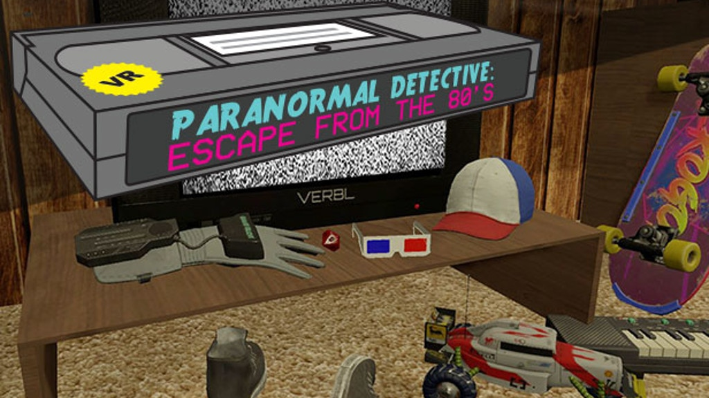 Paranormal Detective: Escape from the 80's project video thumbnail