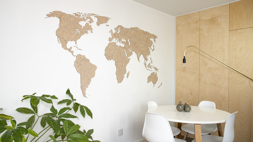 Rio - A world map that makes you wonder by Loes & Lotte De ...
