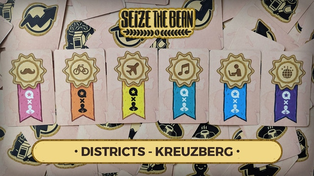 Click this thumbnail image to watch a video about the Kreuzberg District setup for Seize the Bean!