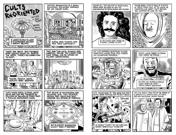 story by Josh Kramer, art by Mike Dawson