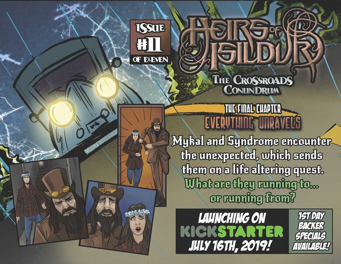 Heirs of Isildur: Issue 1-11 +260pg Enhanced Trade Paperback