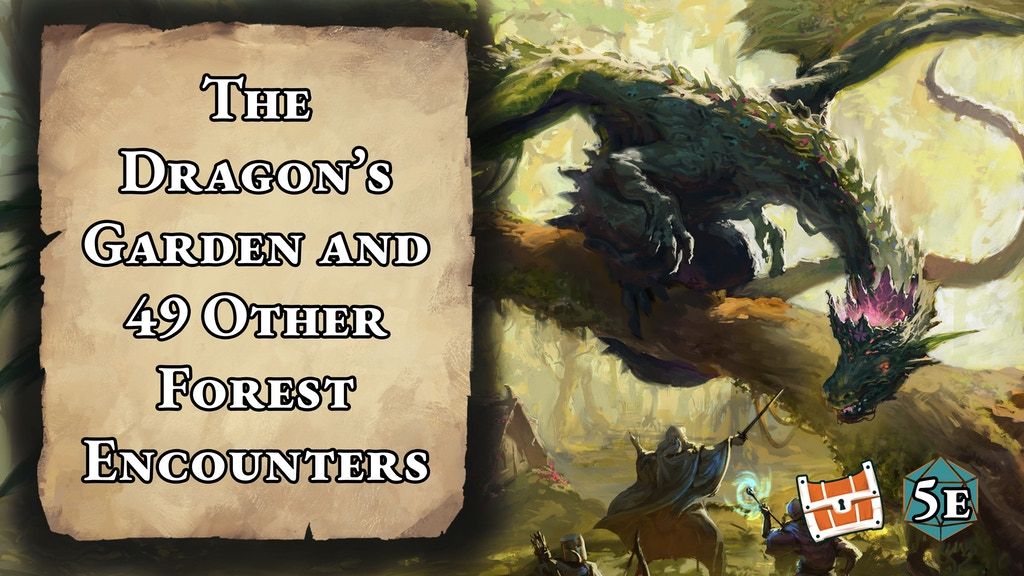 The Dragon's Garden and 49 Other Forest Encounters project video thumbnail