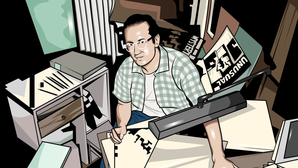 Regards, Ditko - An Exploration Into the Mind of Steve Ditko project video thumbnail