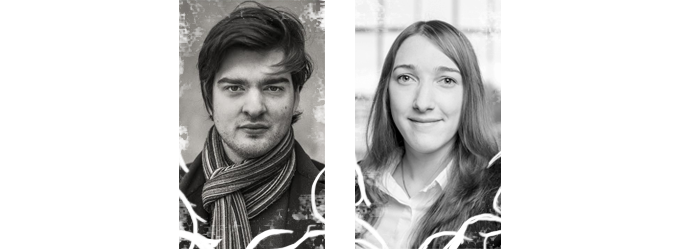 Kevin Péclet (Lead Designer and Artist) and Isa Roesch (Programmer)
