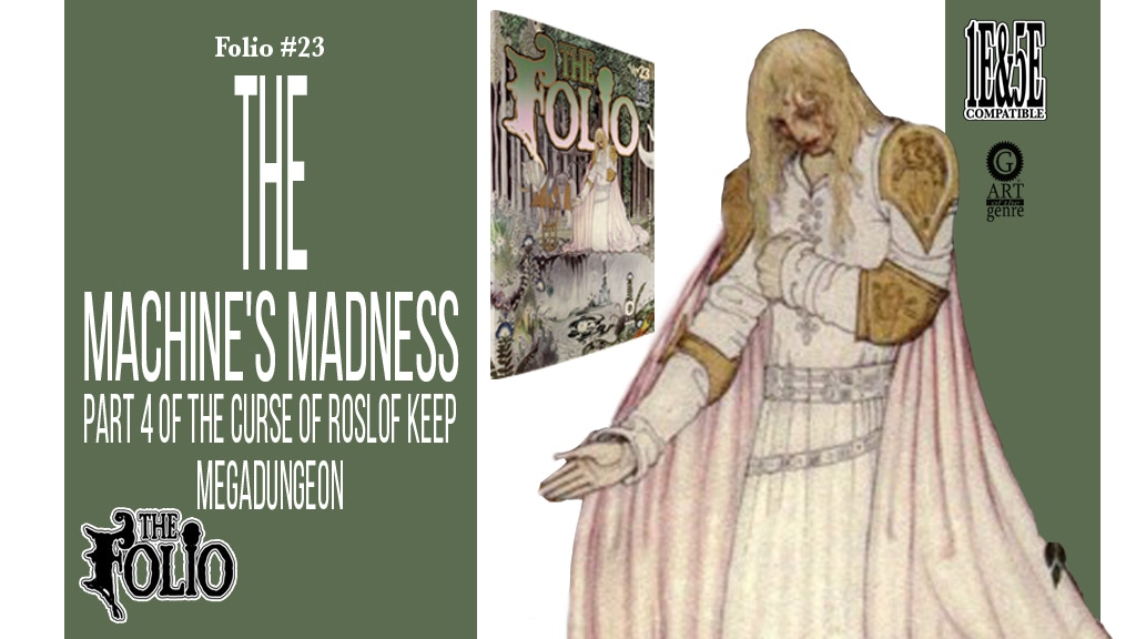 Folio #23 The Machine's Madness! project video thumbnail