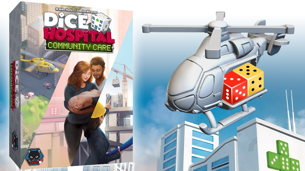Dice Hospital Community Care 3 expansions for Dice Hospital project video thumbnail