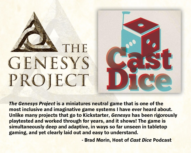 The Genesys Project: The Birth of Genesys by Gary Krieger- Genesys
