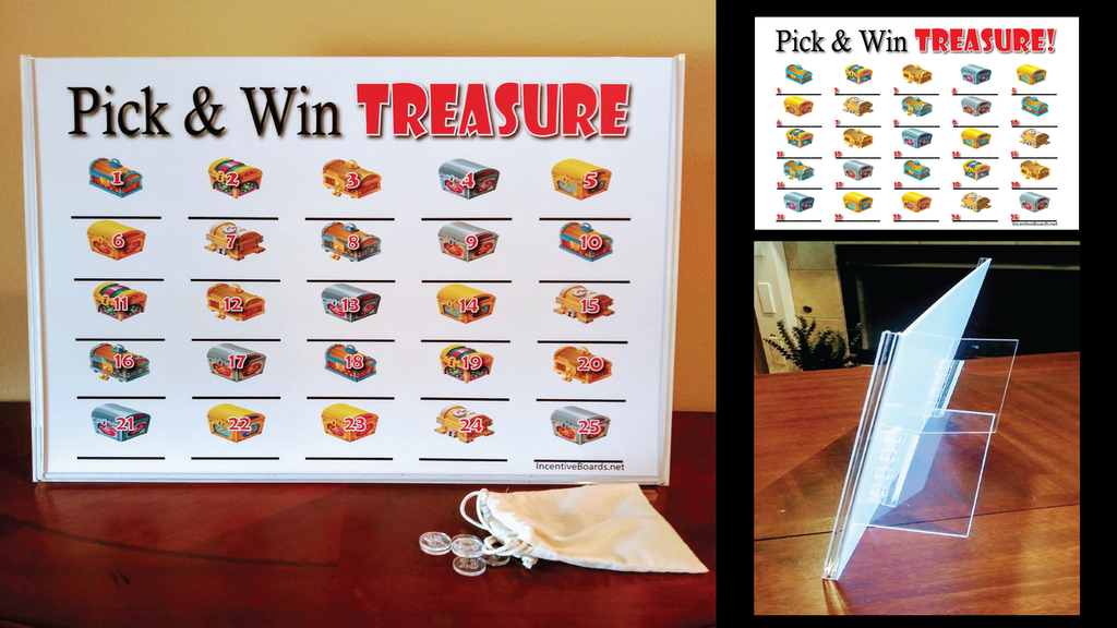 Project image for Pick & Win Treasure