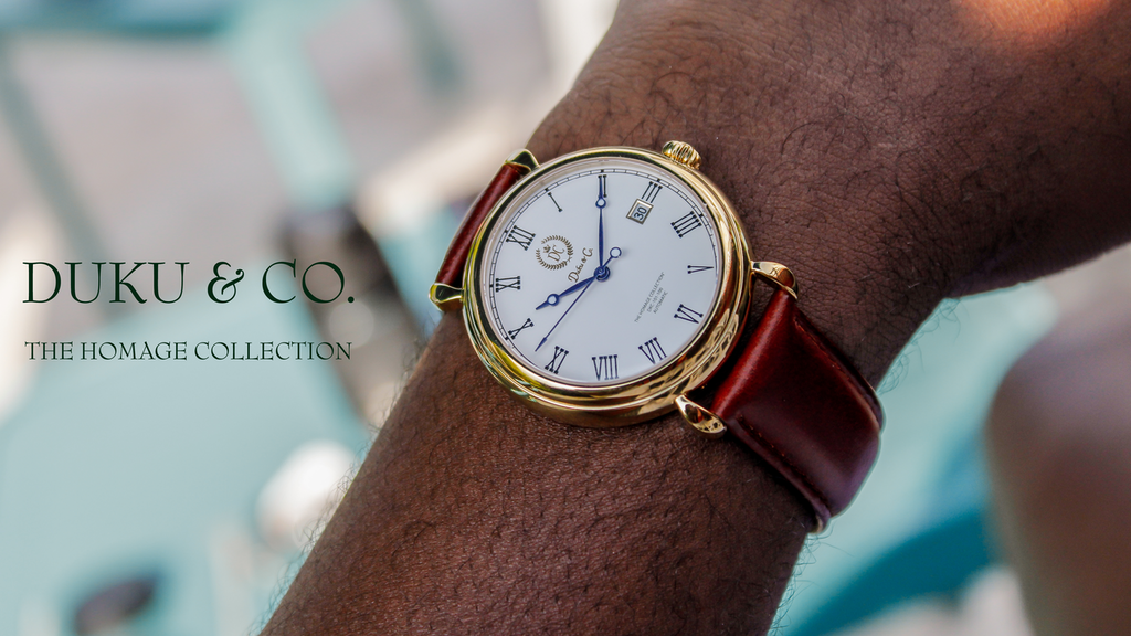 DUKU & CO. Automatic - Redefining Elegance in Watchmaking project video thumbnail