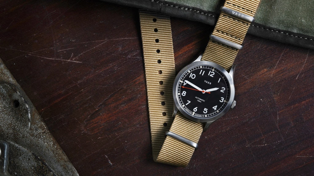 Vaer Automatic Watches | Timeless Design & Rugged Durability project video thumbnail