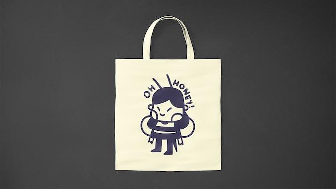 Bolso / Tote Bag  -  Ilustración / Illustration: @francouno