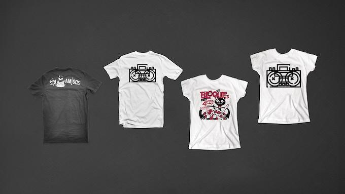 Playera / T Shirt  -  Ilustraciones / Illustrations: @francouno