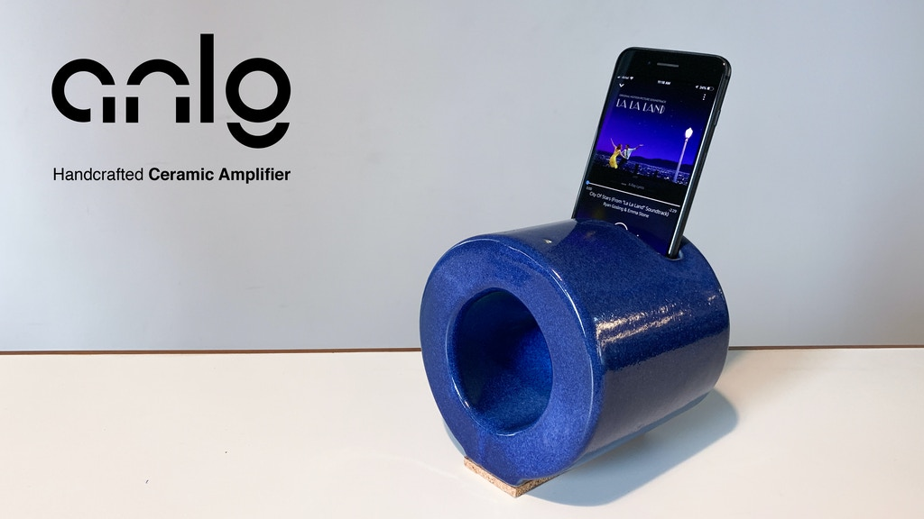 ANLG: World's Most Iconic Handcrafted Ceramic Speaker project video thumbnail