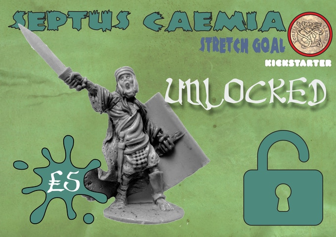 Single piece white metal miniature. Add to your Pledge for £5