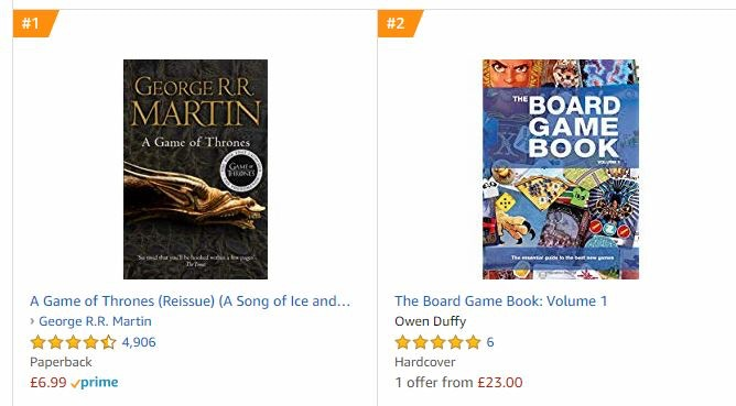 The number one book wasn't even about games...