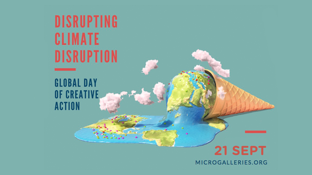 Disrupting Climate Disruption: A Day of Creative Action project video thumbnail
