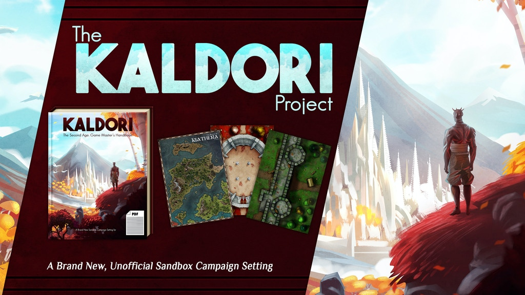The Kaldori Project (For Tabletop Roleplaying) project video thumbnail