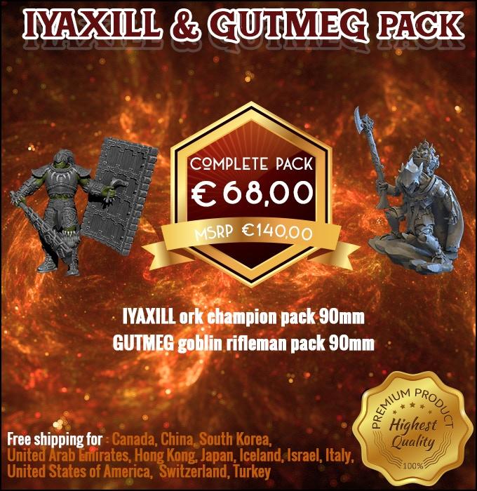 Iyaxill & Gutmeg Pack