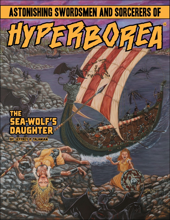 The Sea-Wolf's Daughter (Art by Del Teigeler)