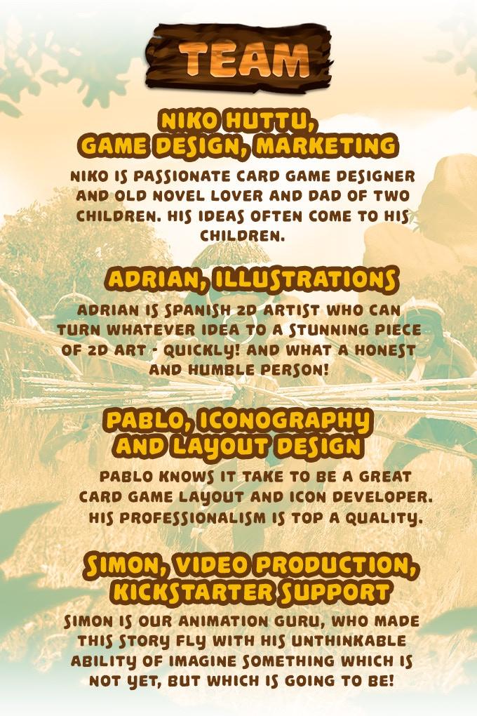 The Old Novel Games design team