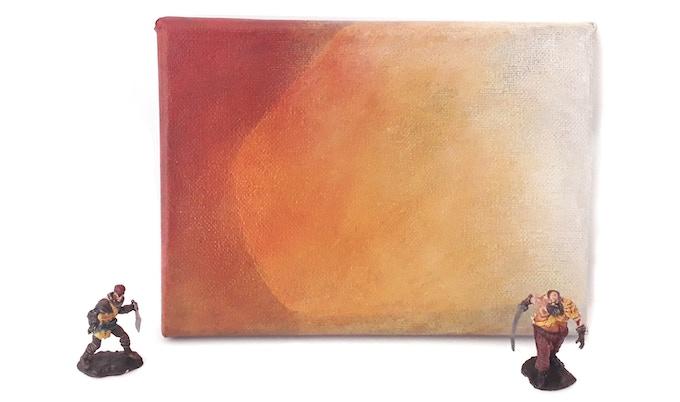 "5""x7"" painting - Atkathla"