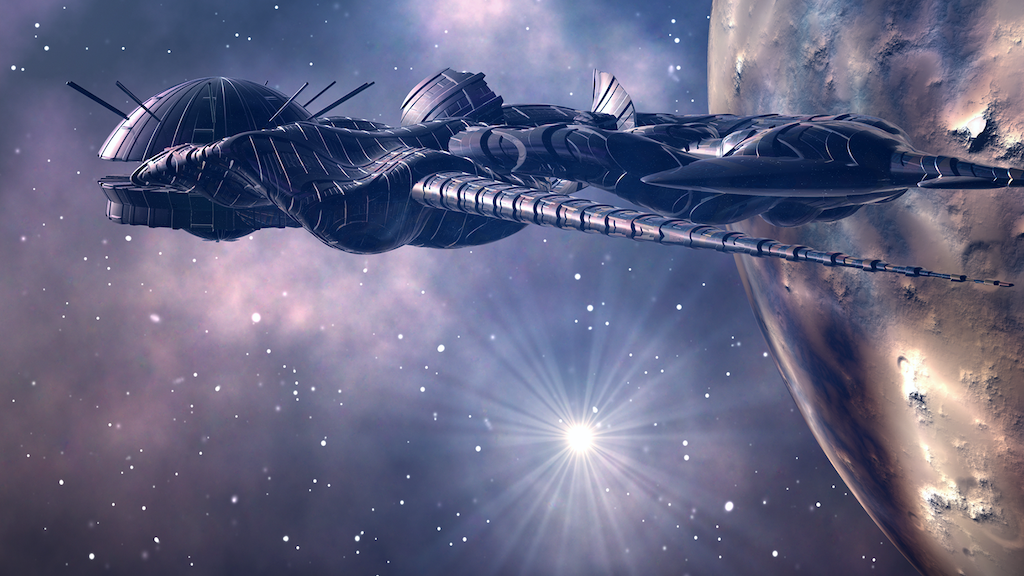 Project image for Werewolves and vampires in space: 3 MilSF novels!