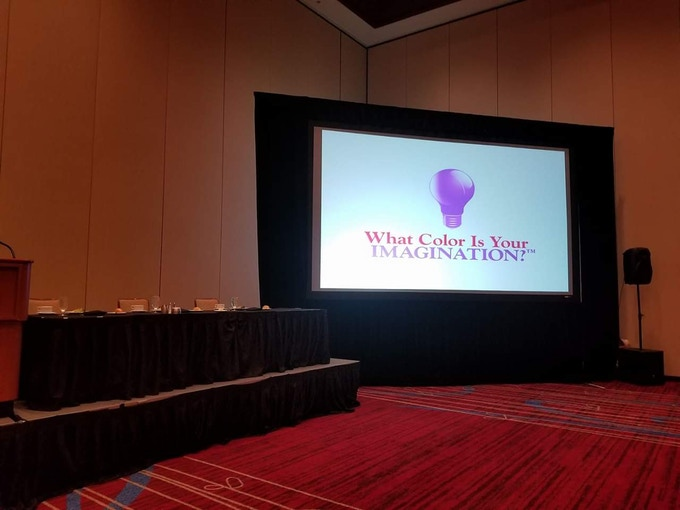 Keynote at an event