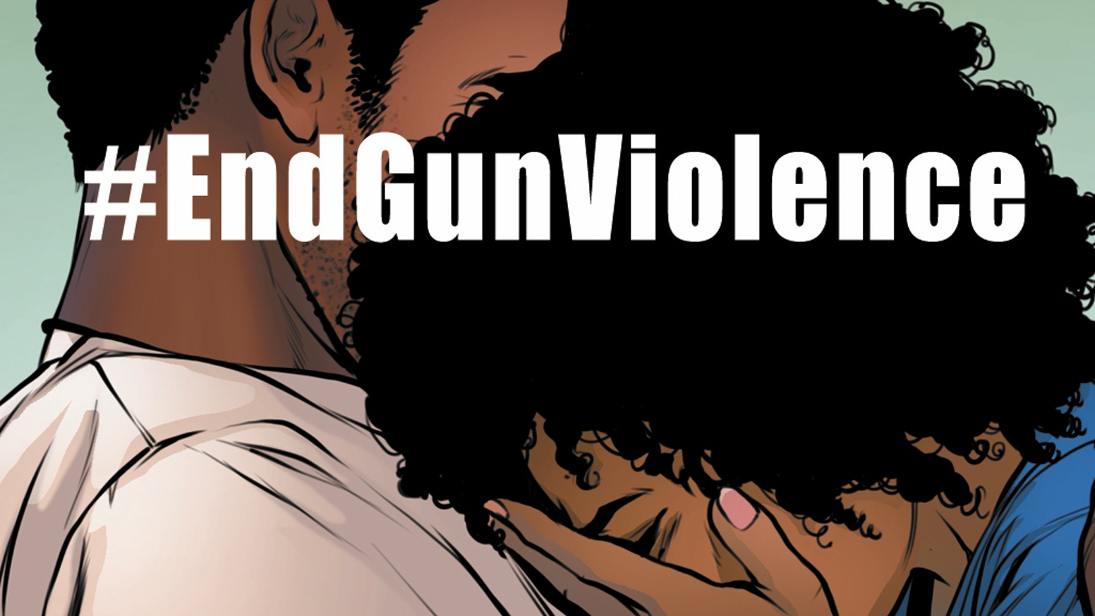A Comics Anthology Helping the Coalition to Stop Gun Violence and the Community Justice Reform Coalition to End Gun Violence in the US
