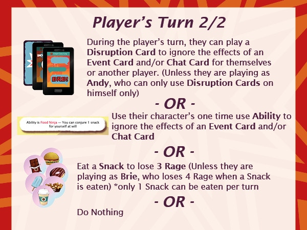 Example of a Player's turn (2/2)