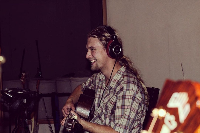 Monte at Big Sky Studio in Ann Arbor, the album's first recording sessions in August 2018.