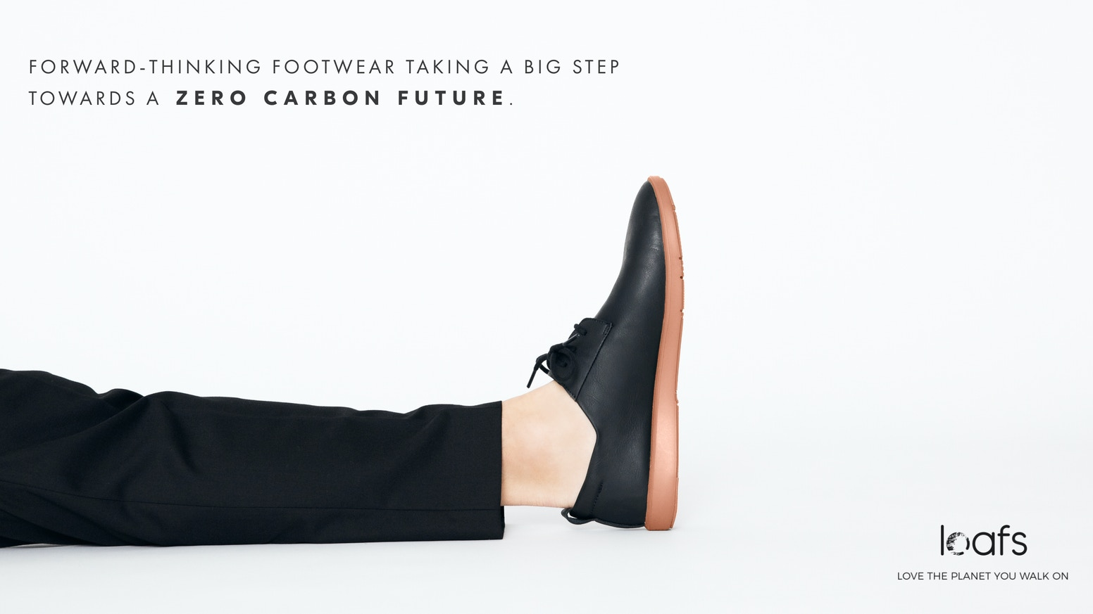 Made from recycled leather & algae: A traditional European dress shoe  and a performance runner, that doesn't look like a sneaker at all.