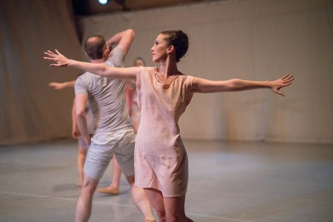 Artistic Director, Dancer, Choreographer Ali McKeon in Stefanie Maughan's CRAFT 2018 New Work
