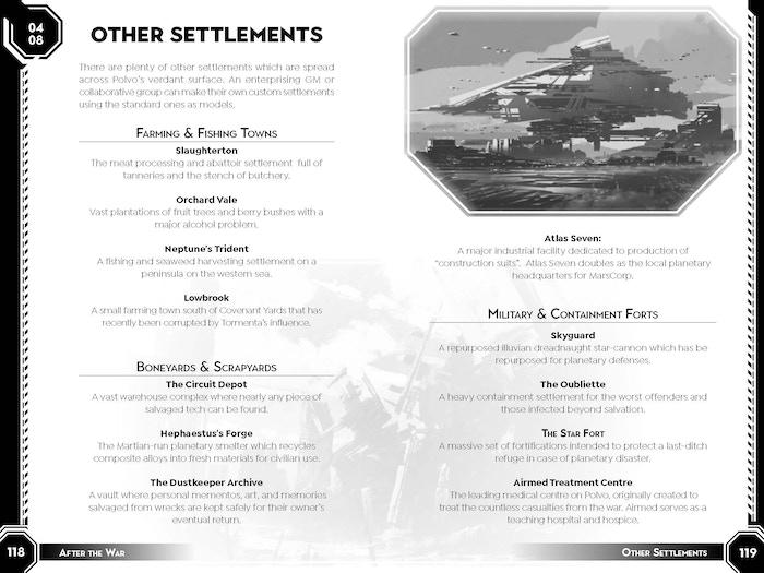 Other Settlements