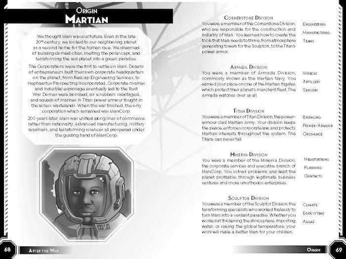 Martian Origin