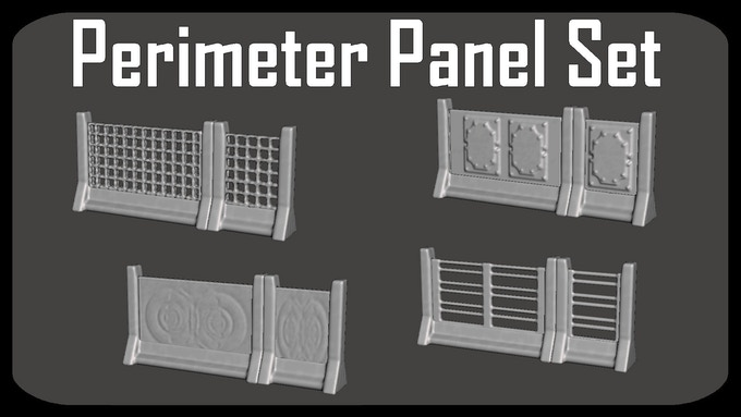 Now also includes Perimeter Panel Set