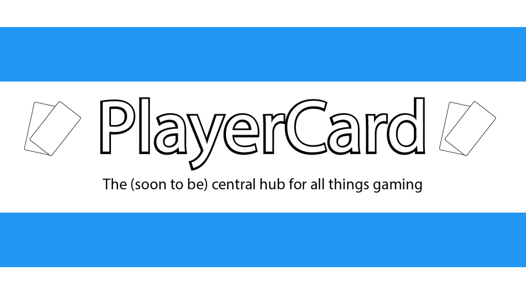 Project image for PlayerCard - A Gaming Website For All Gamers