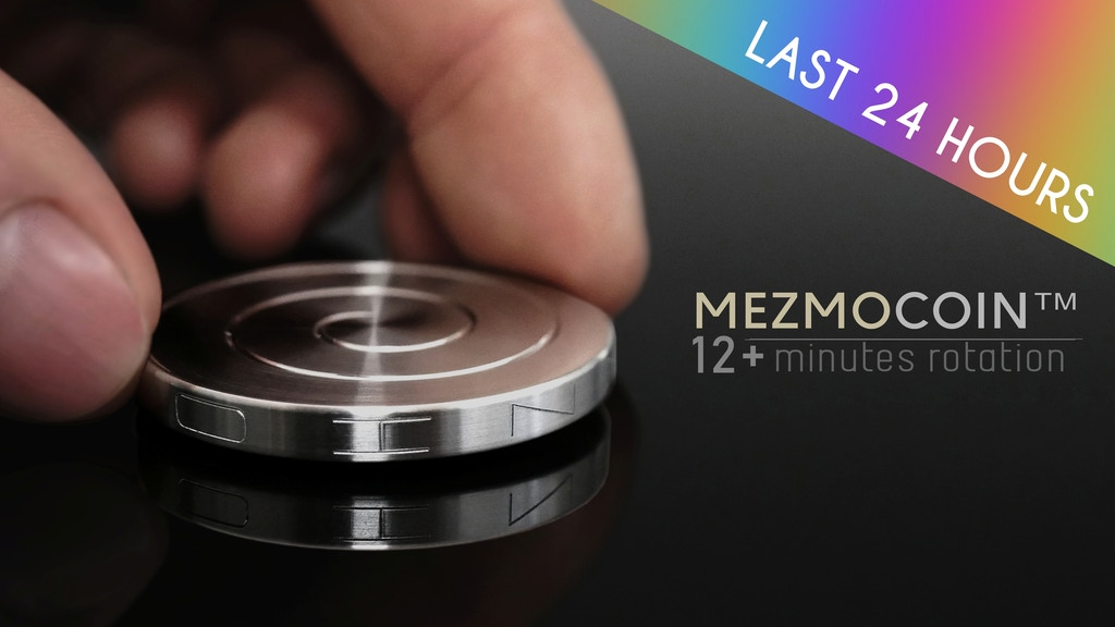 MezmoCoin™- The pocket sized Kinetic desk toy project video thumbnail