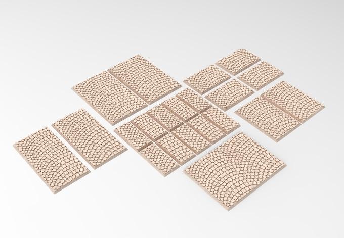 3D printable rectangular bases