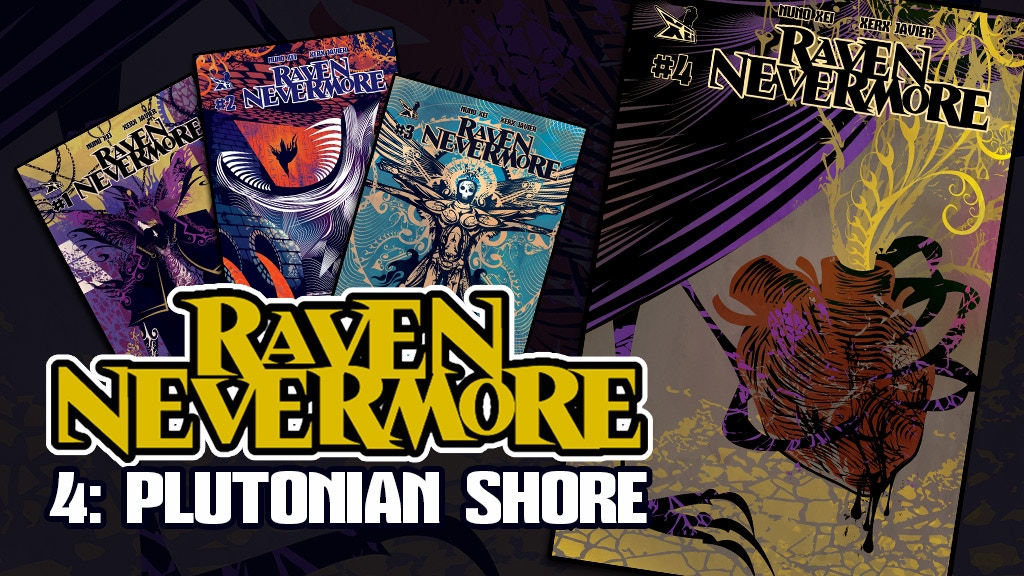RAVEN NEVERMORE #4 - Supernatural Dark Fantasy Comic project video thumbnail
