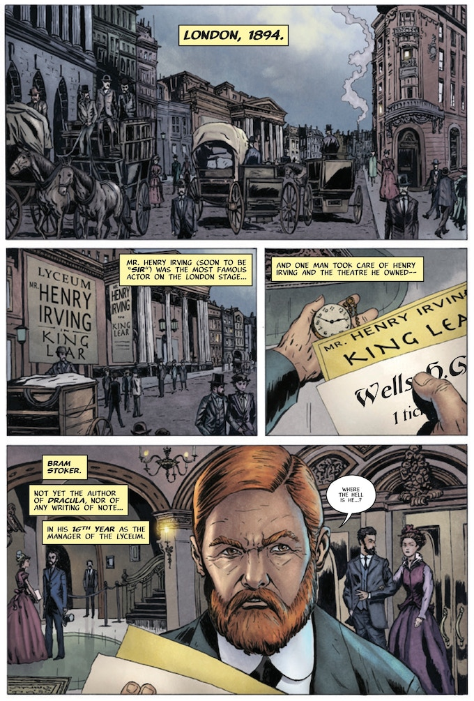 Page 1 - Artist: Barry Orkin / Colors: Chris Summers / Letters: Marshall Dillon