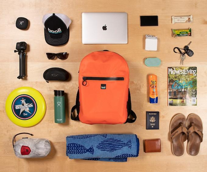 Booe - The first 100% Hybrid 20 waterproof backpack | Steemhunt