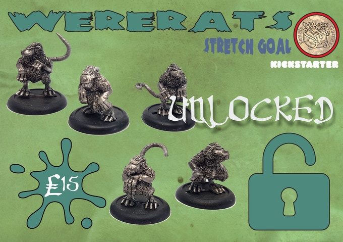 'ere guv, wanna score some Black Lotus?  Add five white metal wererats to your Pledge for £15
