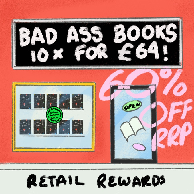Retail Reward get 10 copie sof he book at 60% off RRP for £64