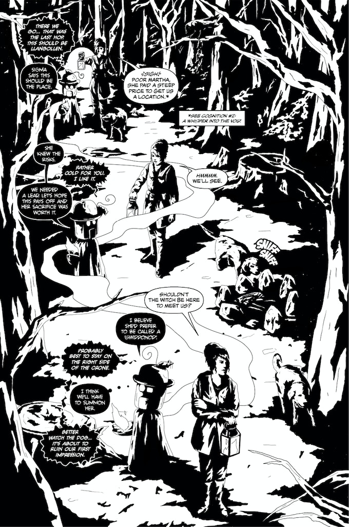 Issue #3 sample page