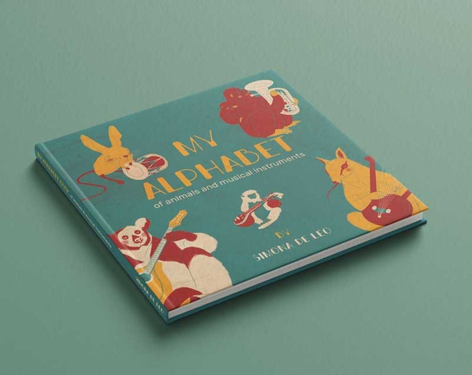The book is 210x210mm, Hardcover and printed in UK!