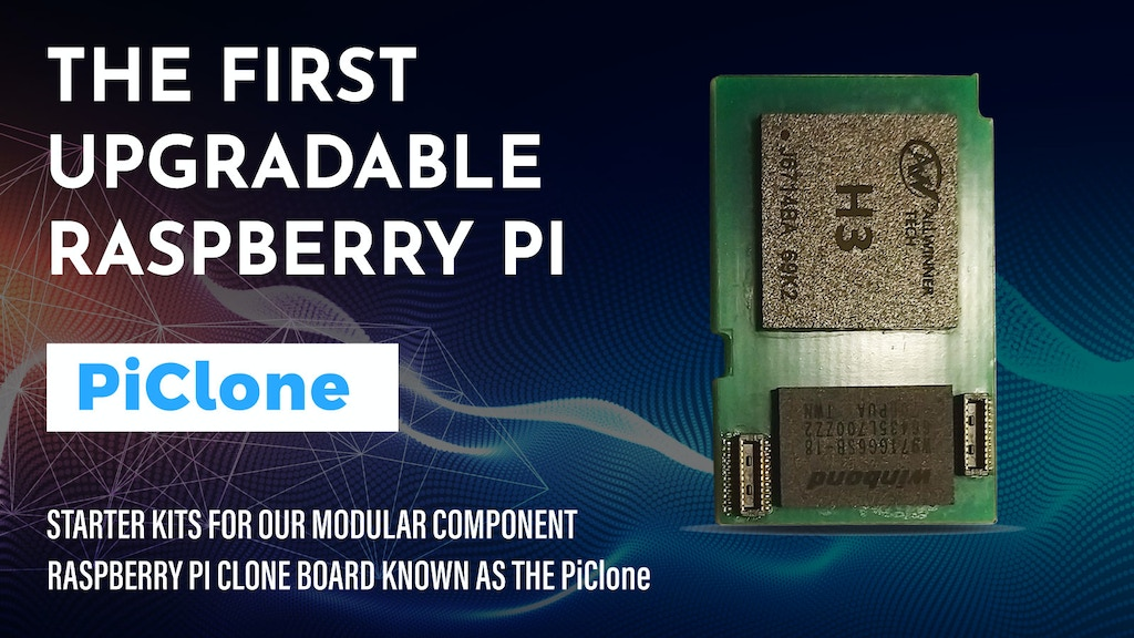 Project image for The first upgradable Raspberry Pi Clone