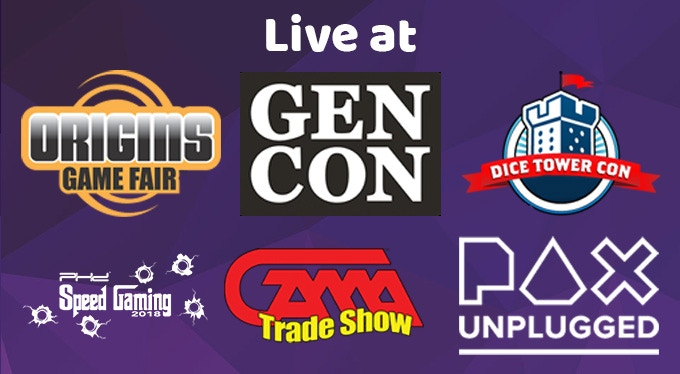 18+ Conventions with over 450 Interviews!