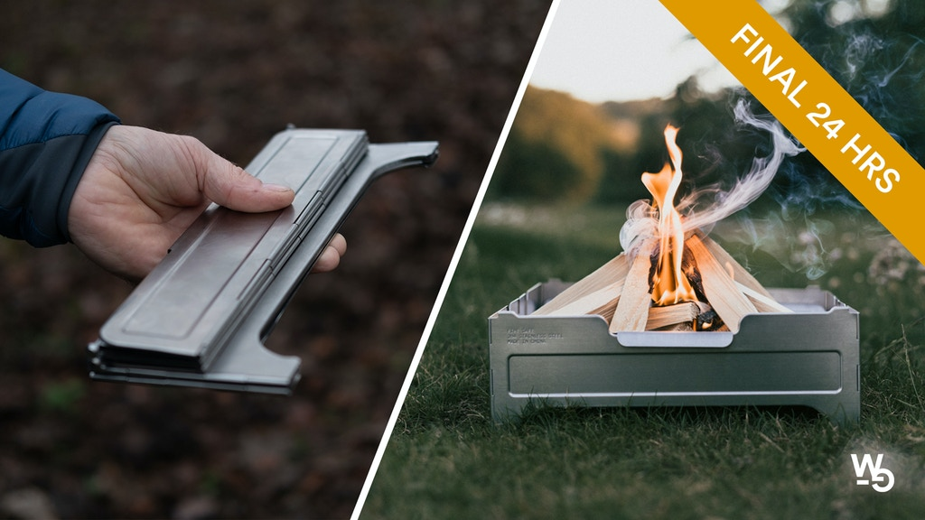 Fire Safe: A Portable Fire Pit by Wolf and Grizzly project video thumbnail