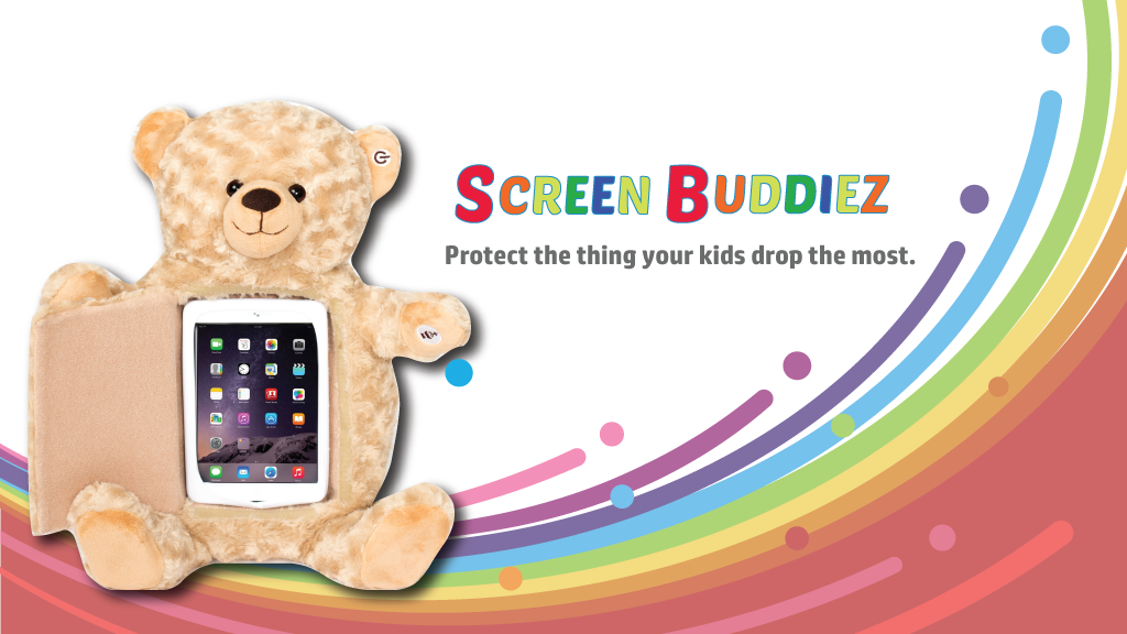 Teddy-Bear Screen Protectors with Bluetooth Capabilities by